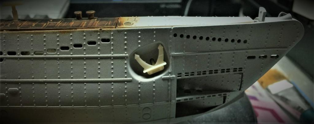Sous-marin U-Boat VIID résine 3D au 1/100 - Page 9 Img_5835