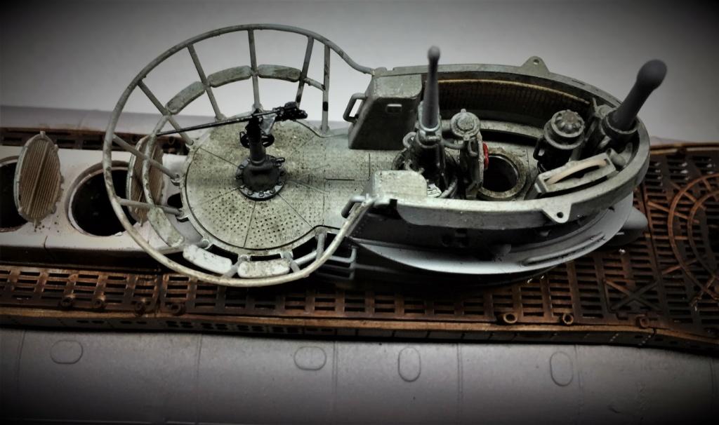 Sous-marin U-Boat VIID résine 3D au 1/100 - Page 9 Img_5837