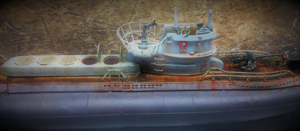 Sous-marin U-Boat VIID résine 3D au 1/100 - Page 9 Img_5862