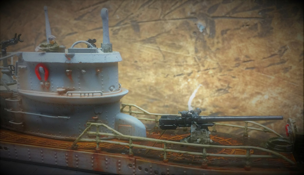 Sous-marin U-Boat VIID résine 3D au 1/100 - Page 9 Img_5864
