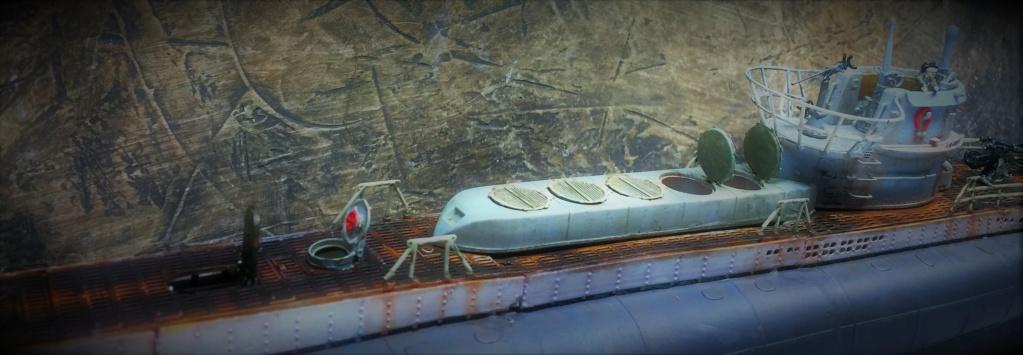 Sous-marin U-Boat VIID résine 3D au 1/100 - Page 9 Img_5865