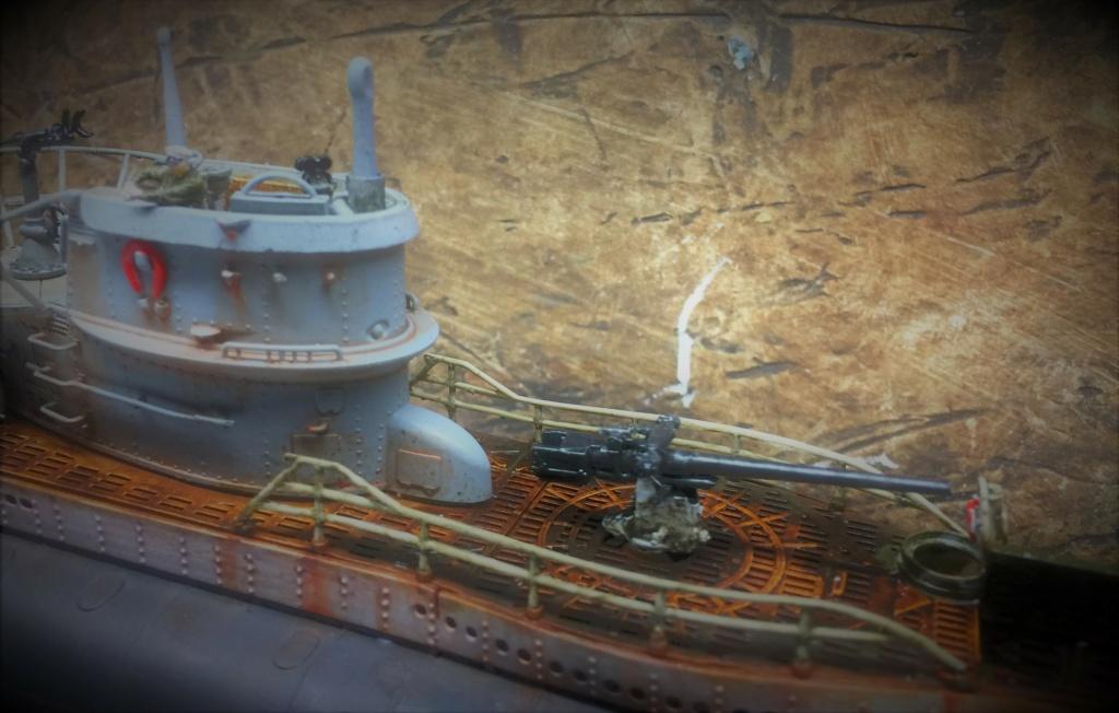 Sous-marin U-Boat VIID résine 3D au 1/100 - Page 9 Img_5866