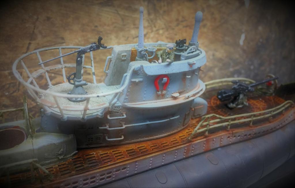 Sous-marin U-Boat VIID résine 3D au 1/100 - Page 9 Img_5867