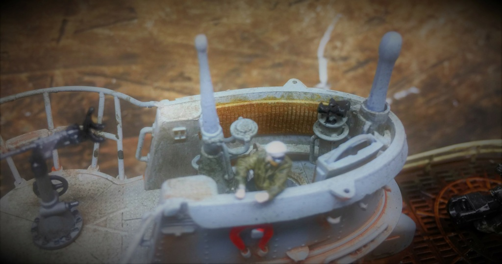 Sous-marin U-Boat VIID résine 3D au 1/100 - Page 9 Img_5911