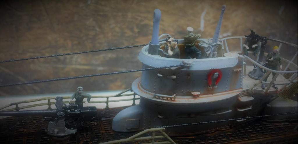 Sous-marin U-Boat VIID résine 3D au 1/100 - Page 10 Img_5916