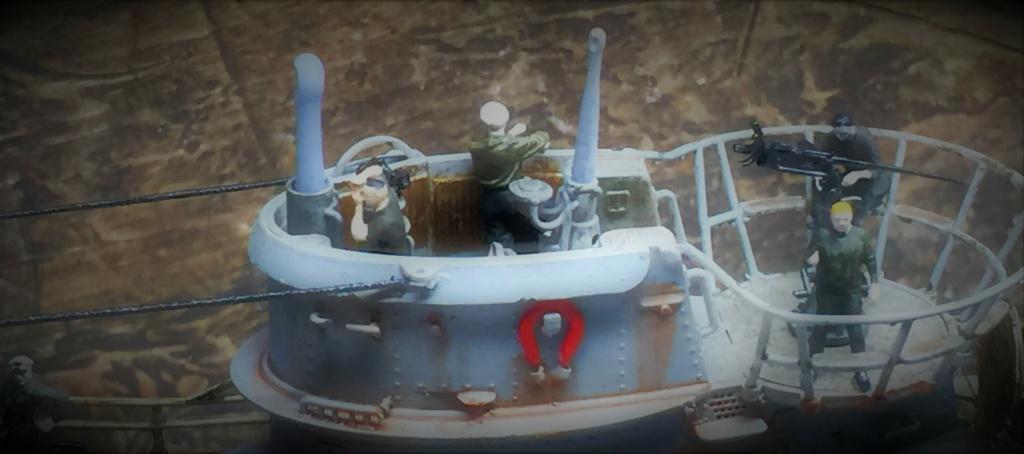 Sous-marin U-Boat VIID résine 3D au 1/100 - Page 10 Img_5918