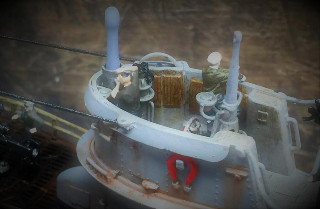 Sous-marin U-Boat VIID résine 3D au 1/100 - Page 10 Img_5919