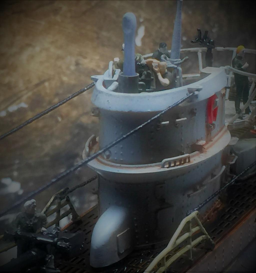 Sous-marin U-Boat VIID résine 3D au 1/100 - Page 10 Img_5920