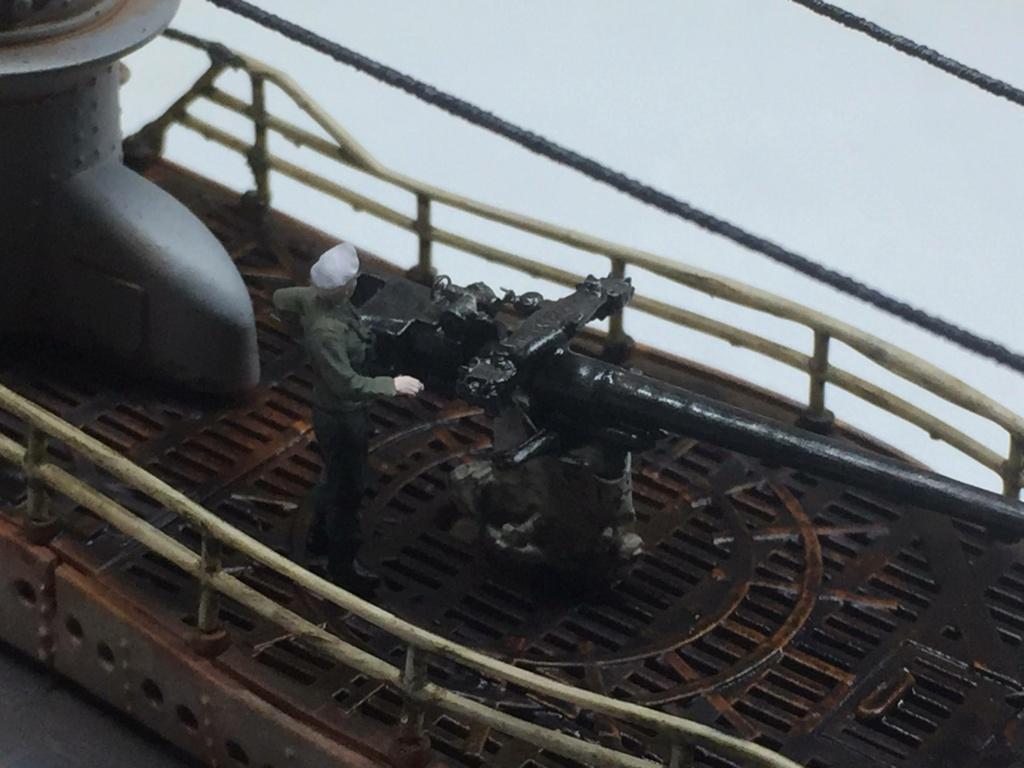Sous-marin U-Boat VIID résine 3D au 1/100 - Page 10 Img_5921