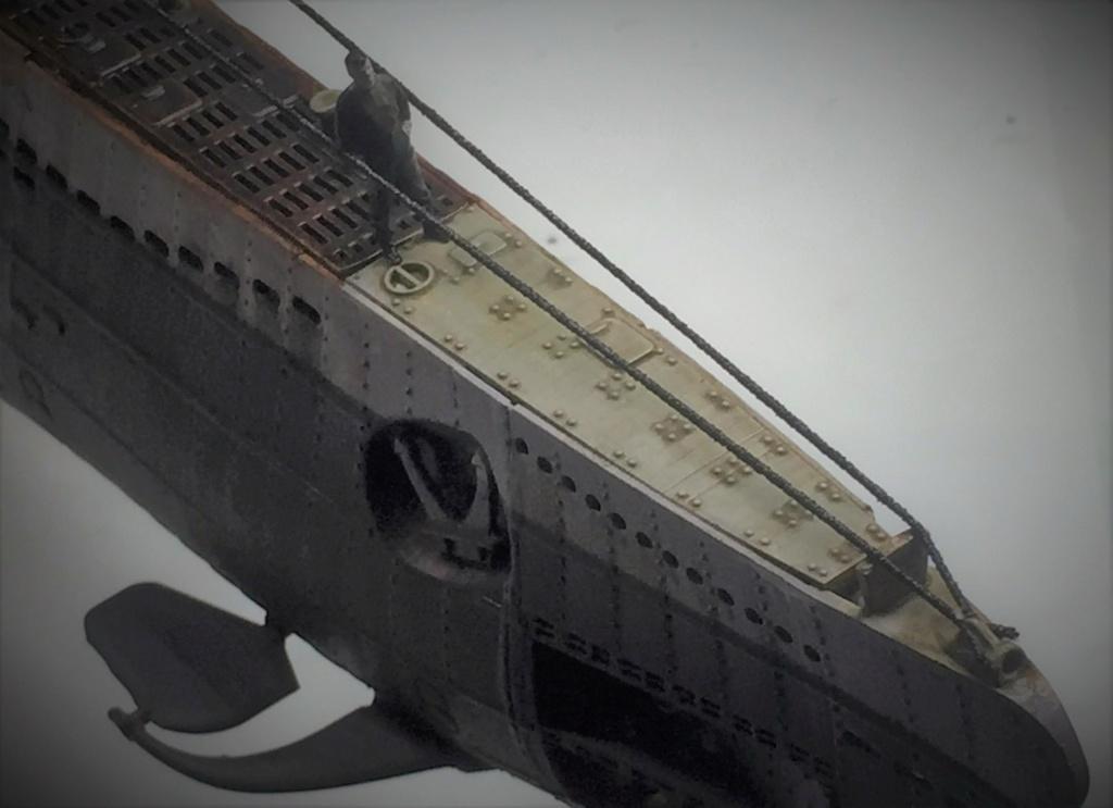 Sous-marin U-Boat VIID résine 3D au 1/100 - Page 10 Img_5922