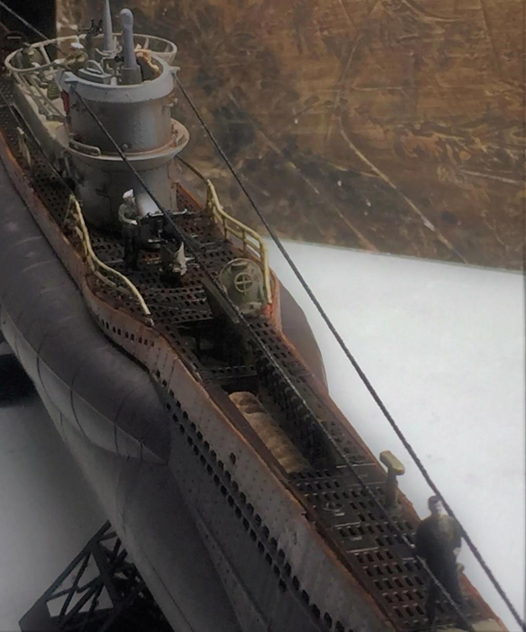 Sous-marin U-Boat VIID résine 3D au 1/100 - Page 10 Img_5924