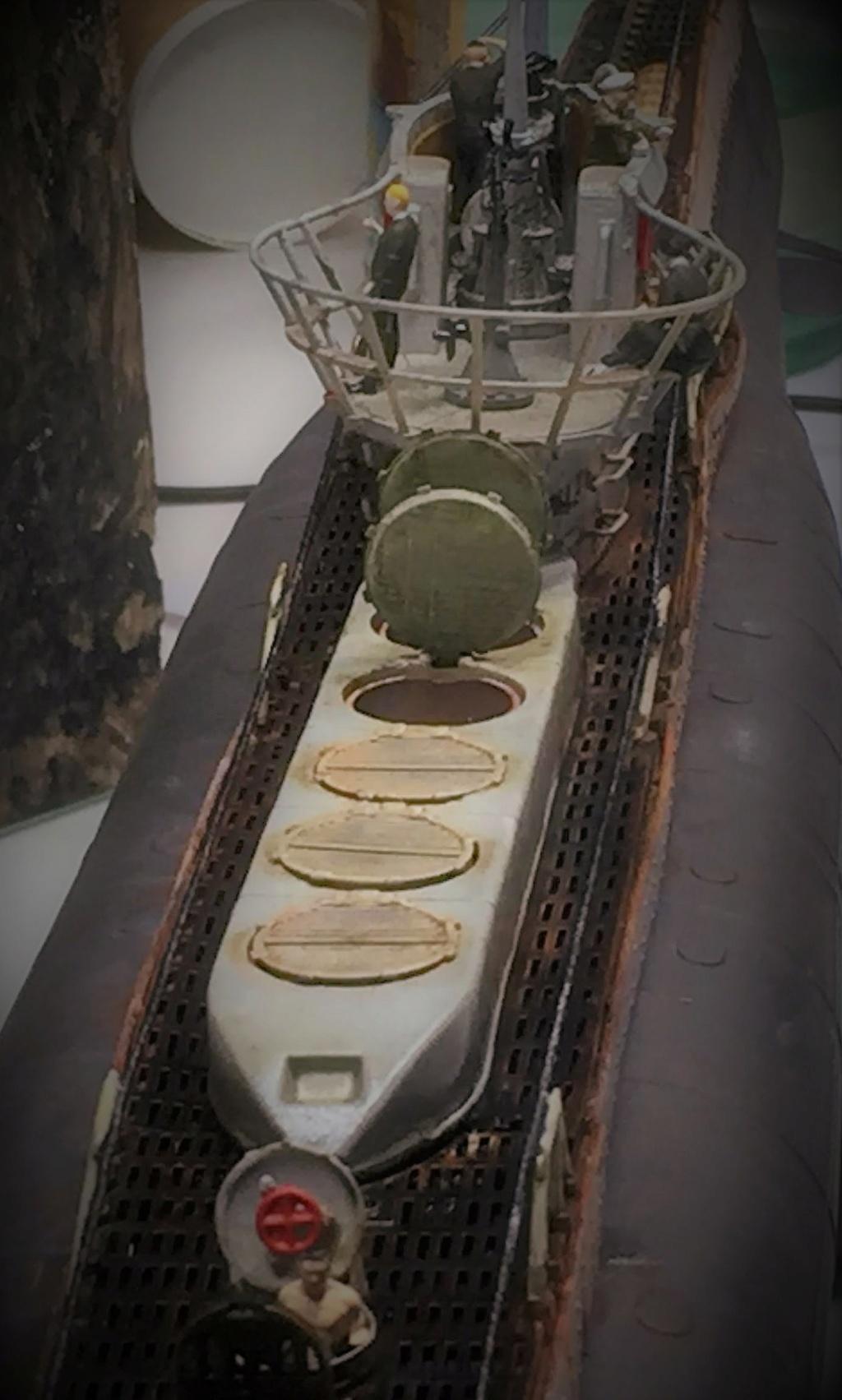 Sous-marin U-Boat VIID résine 3D au 1/100 - Page 10 Img_5926