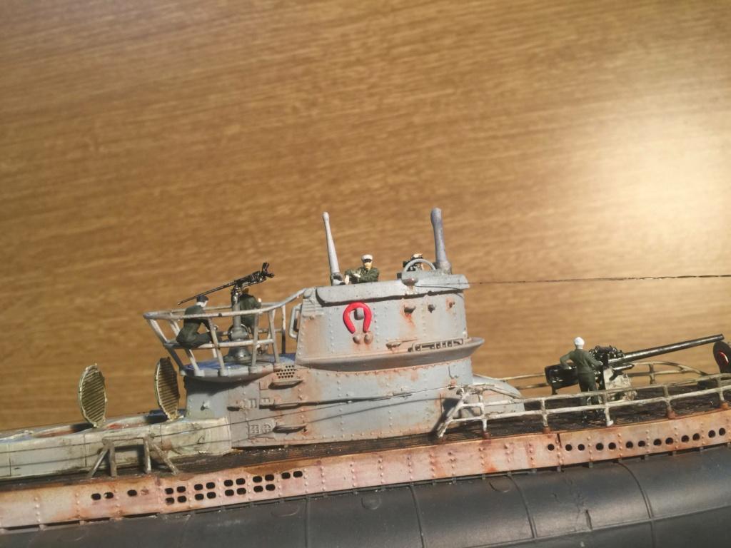 Sous-marin U-Boat VIID résine 3D au 1/100 - Page 10 Img_5943