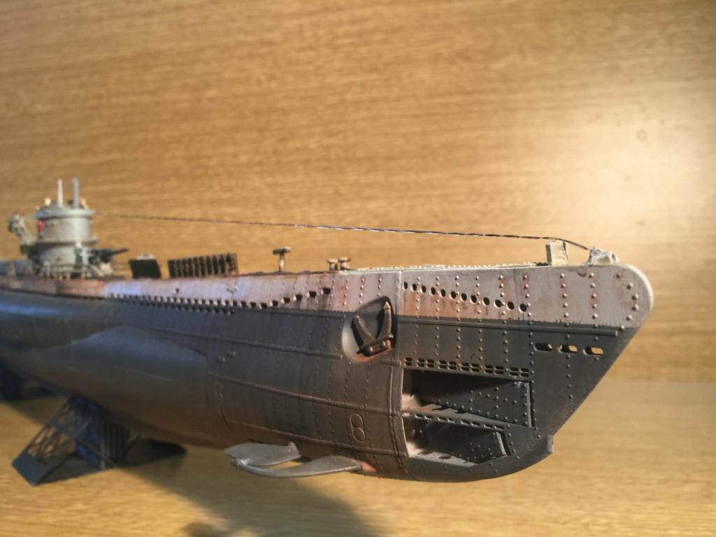 Sous-marin U-Boat VIID résine 3D au 1/100 - Page 10 Img_5944