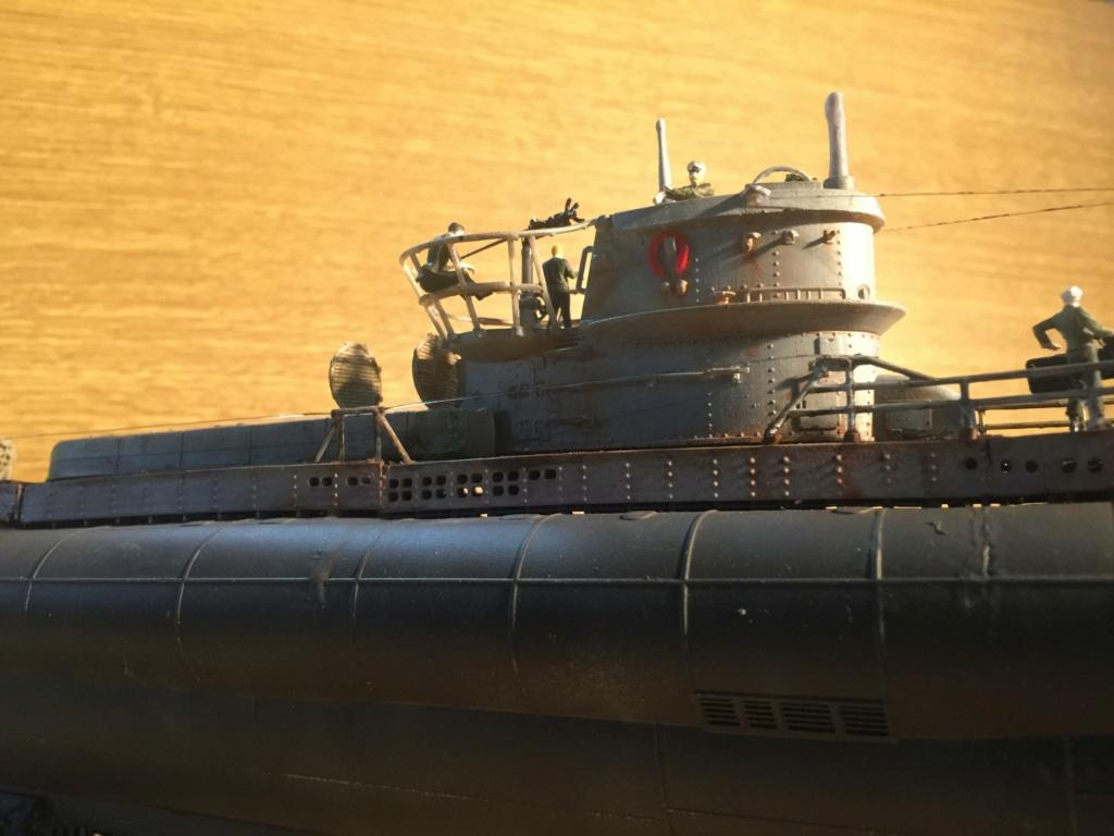 Sous-marin U-Boat VIID résine 3D au 1/100 - Page 10 Img_5946
