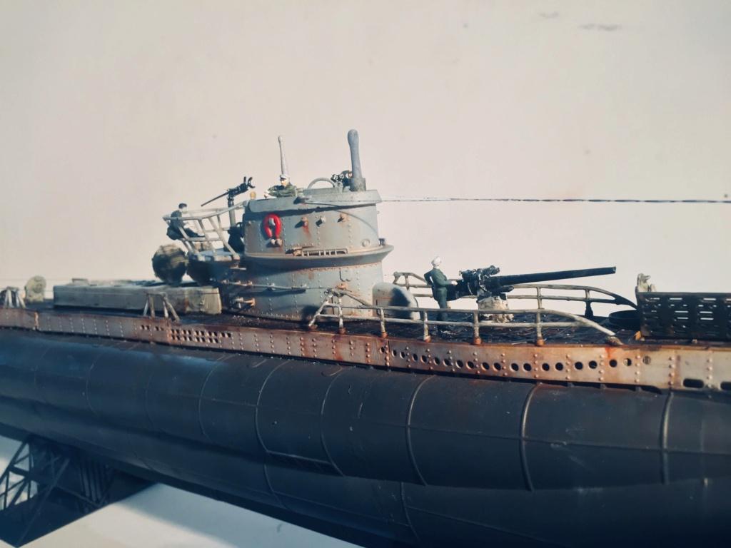 Sous-marin U-Boat VIID résine 3D au 1/100 - Page 10 Img_5949