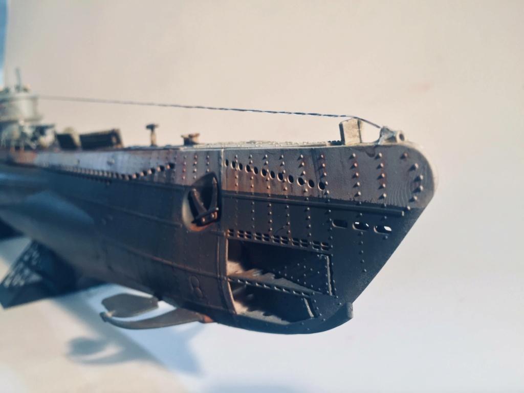 Sous-marin U-Boat VIID résine 3D au 1/100 - Page 10 Img_5950