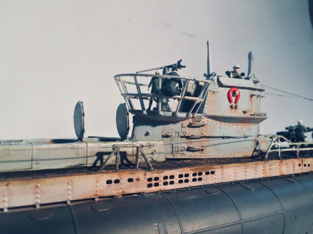 Sous-marin U-Boat VIID résine 3D au 1/100 - Page 10 Img_5951