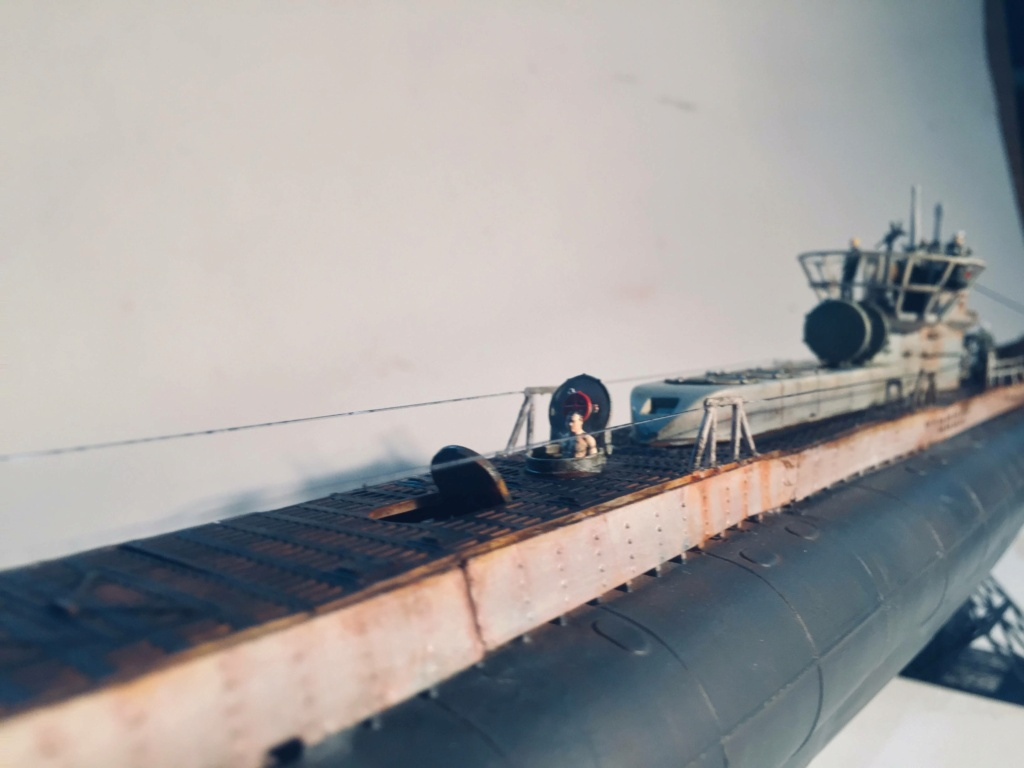 Sous-marin U-Boat VIID résine 3D au 1/100 - Page 10 Img_5952