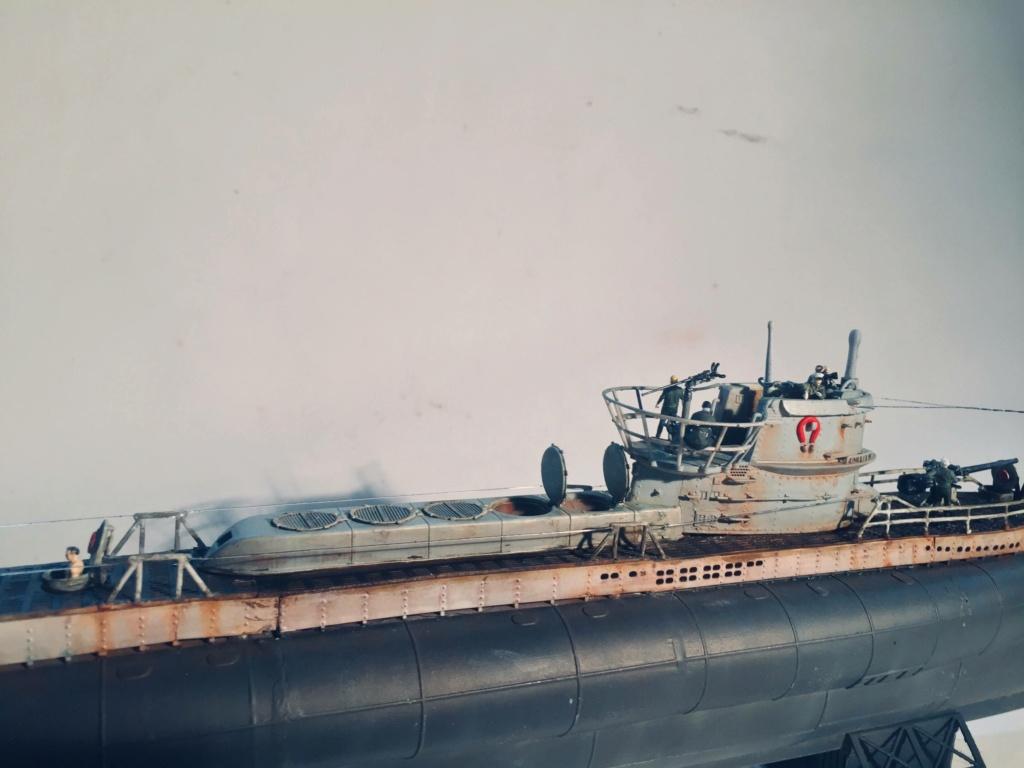 Sous-marin U-Boat VIID résine 3D au 1/100 - Page 10 Img_5953