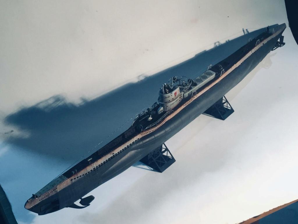 Sous-marin U-Boat VIID résine 3D au 1/100 - Page 10 Img_6014