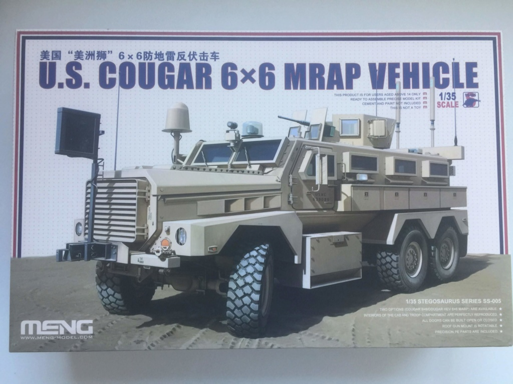 U.S. COUGAR 6X6 Mrap vehicle MENG 1/35 Termine Img_6119
