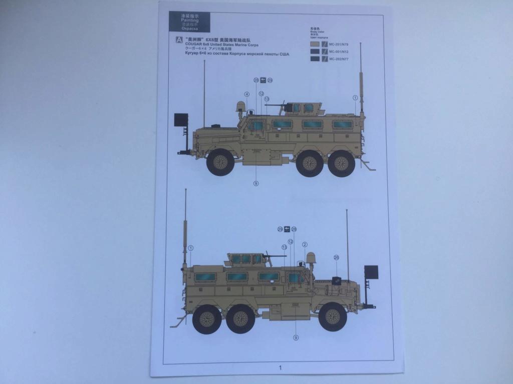 U.S. COUGAR 6X6 Mrap vehicle MENG 1/35 Termine Img_6136