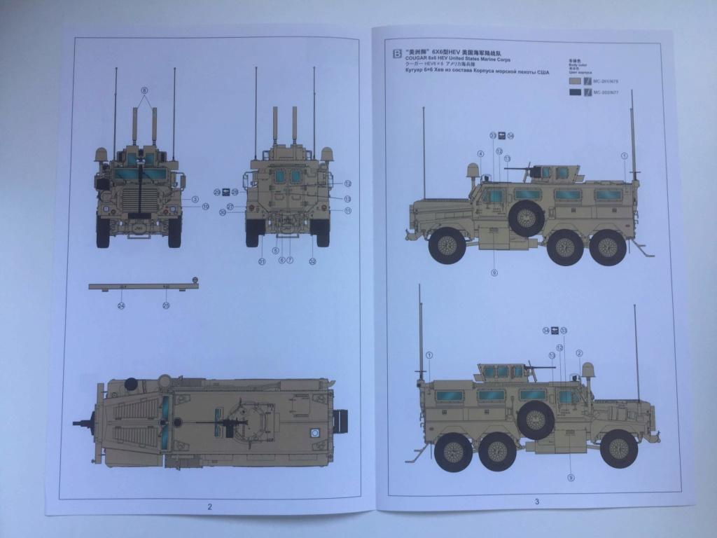 U.S. COUGAR 6X6 Mrap vehicle MENG 1/35 Termine Img_6139