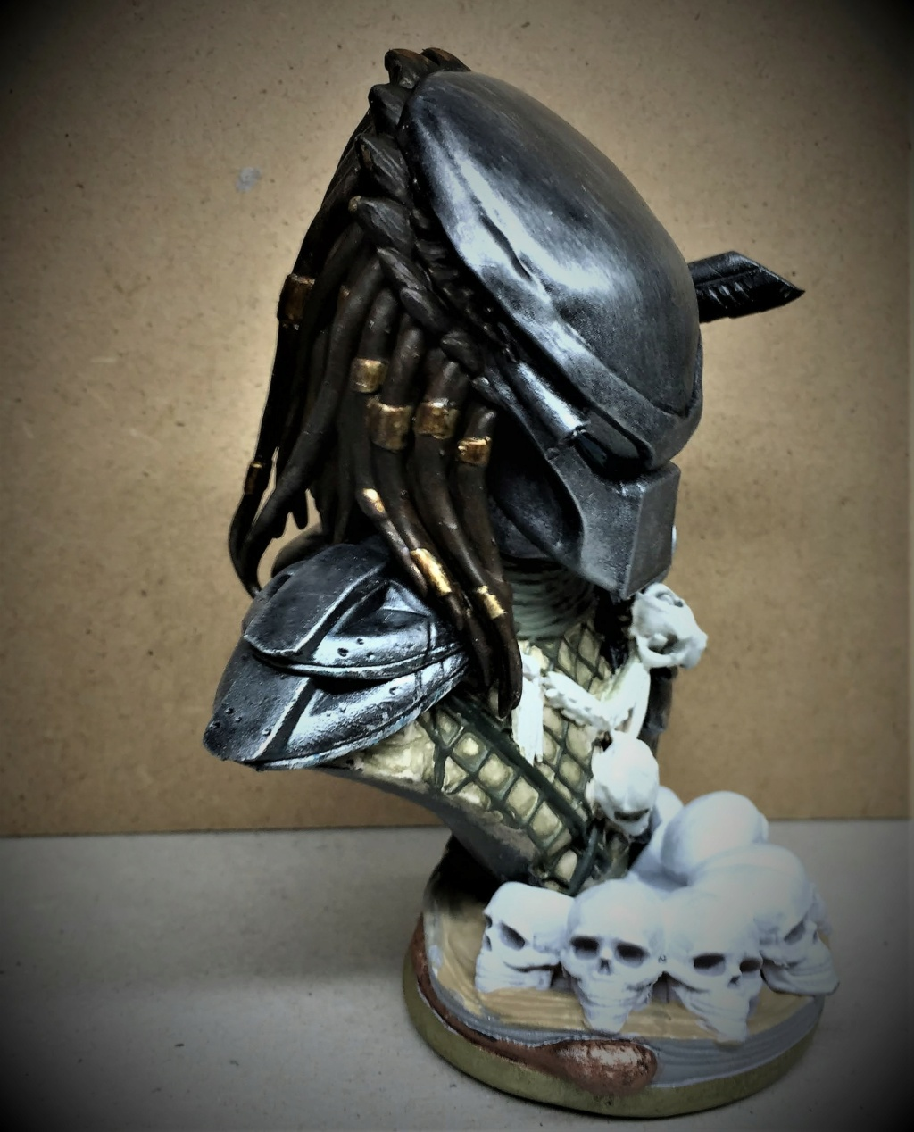 Buste Predator 1/10 Img_6165