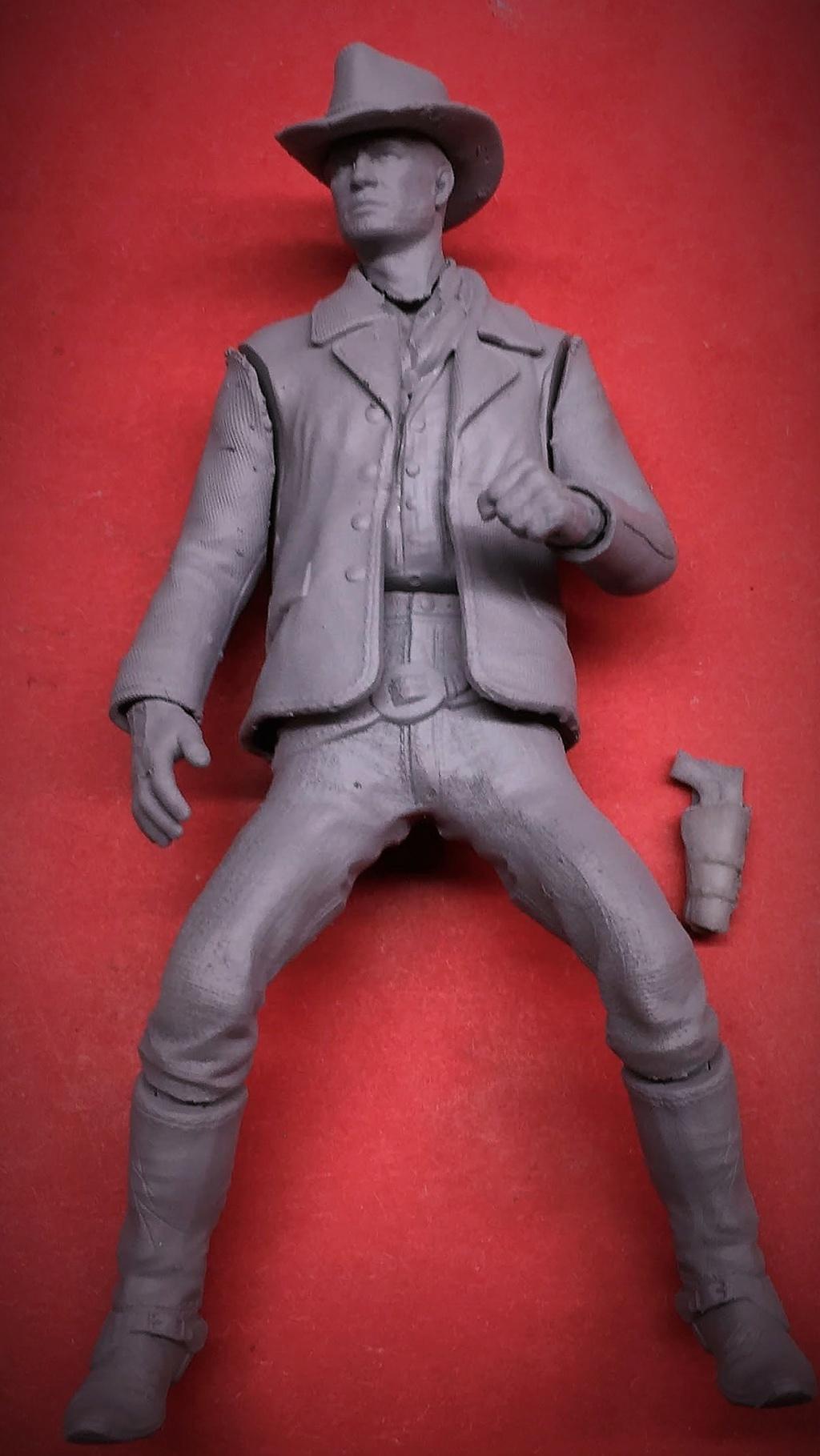 """Figurine 3D résine au 1/24  Arthur Morgan du jeux PS4  """"red dead redemption"""". Img_6310"""