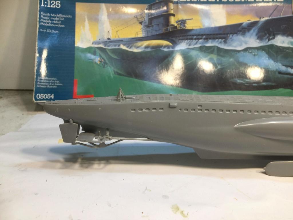 German Submarine Type VIIB U-99 Revell 1/125 Img_6416