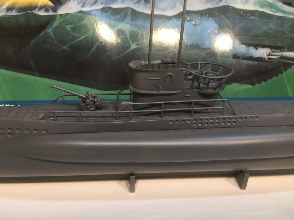 German Submarine Type VIIB U-99 Revell 1/125 Img_6420