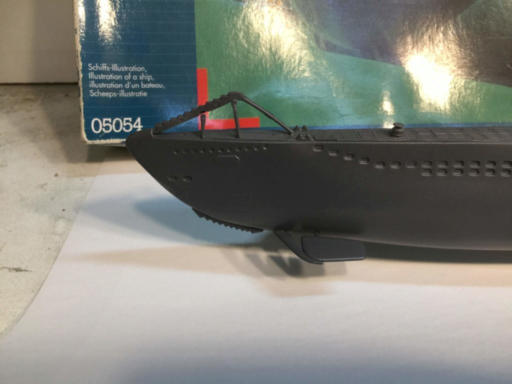 German Submarine Type VIIB U-99 Revell 1/125 Img_6421