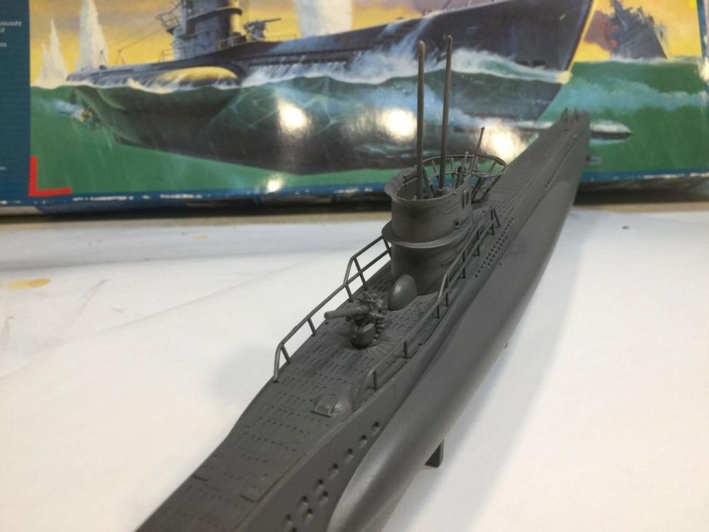 German Submarine Type VIIB U-99 Revell 1/125 Img_6423