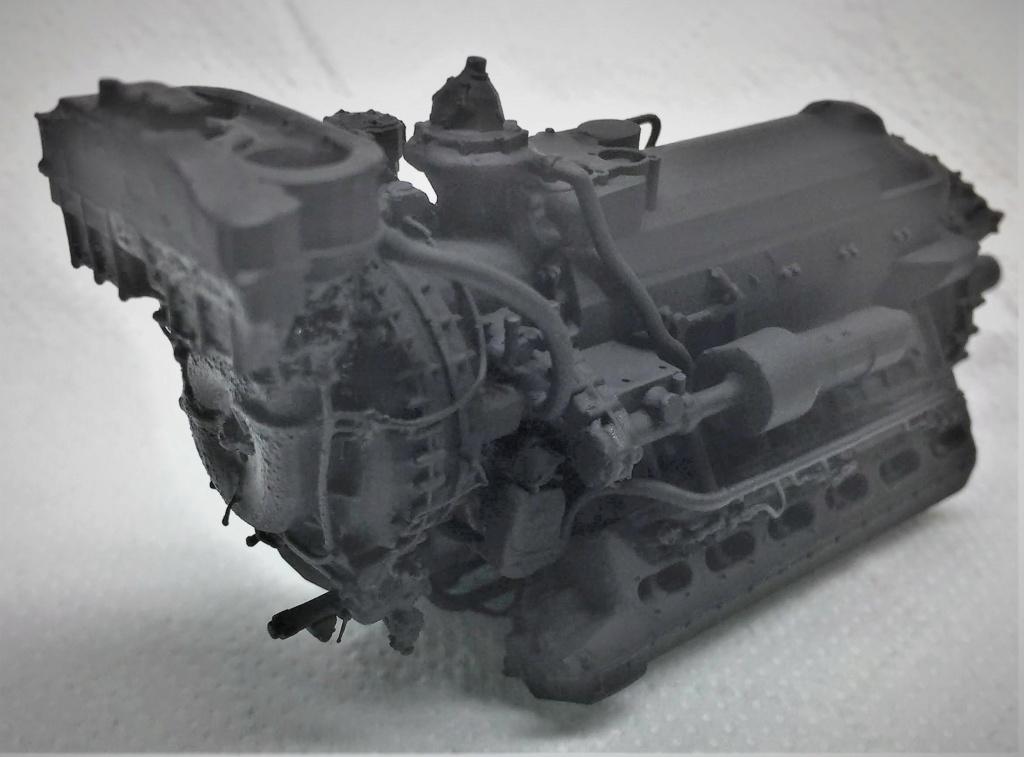 Rolls-Royce Merlin engine résine 1/24 Img_6451