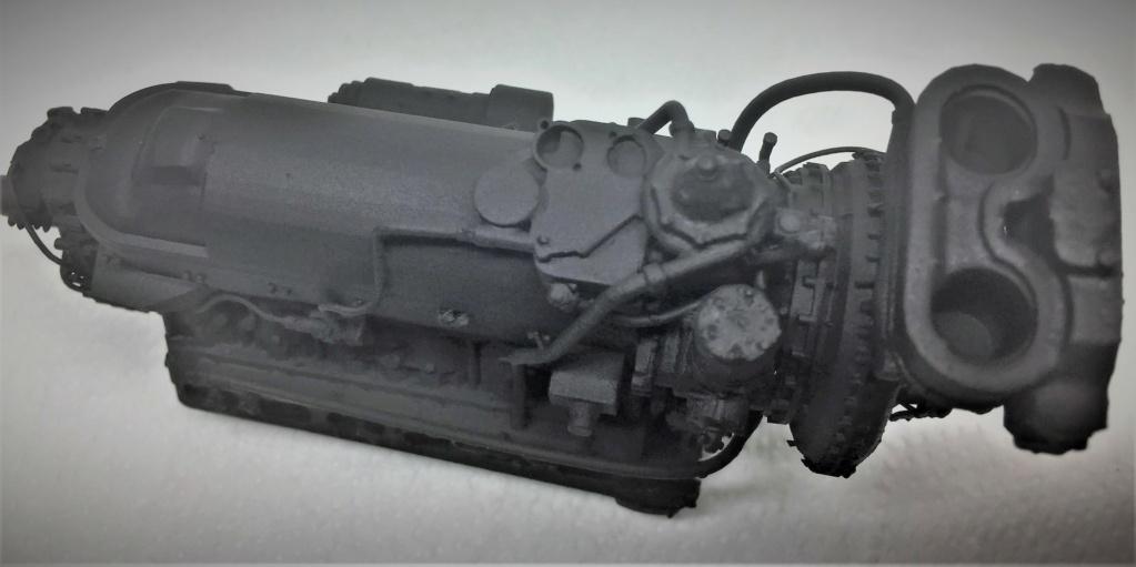 Rolls-Royce Merlin engine résine 1/24 Img_6454