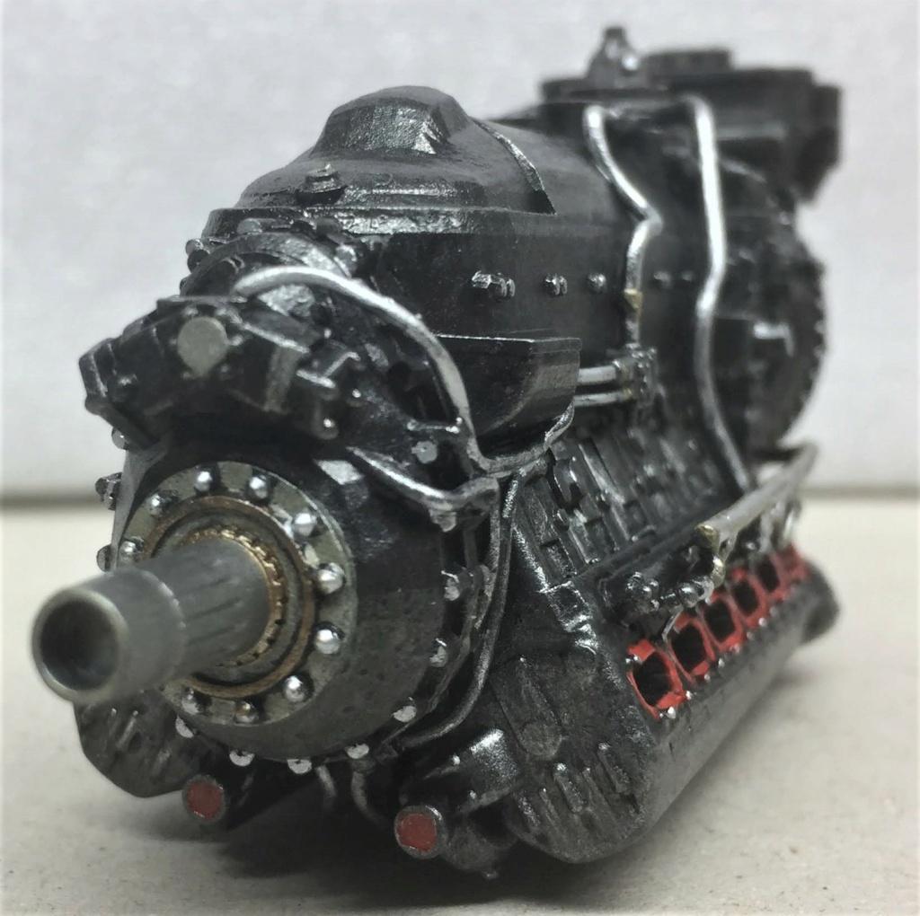 Rolls-Royce Merlin engine résine 1/24 Img_6512