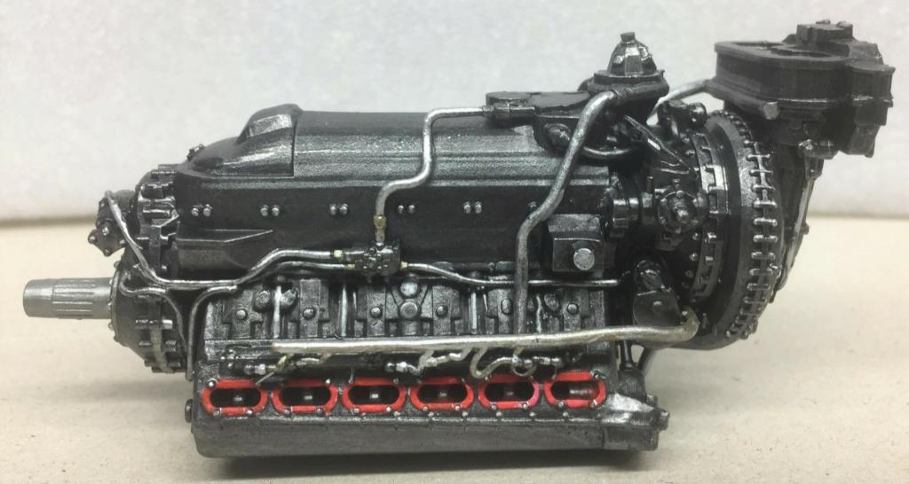 Rolls-Royce Merlin engine résine 1/24 Img_6513