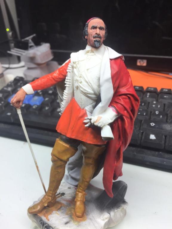 Armand Jean du Plessis Duc de Richelieu Résine 3D ( 12cm ) Terminé Img_7120