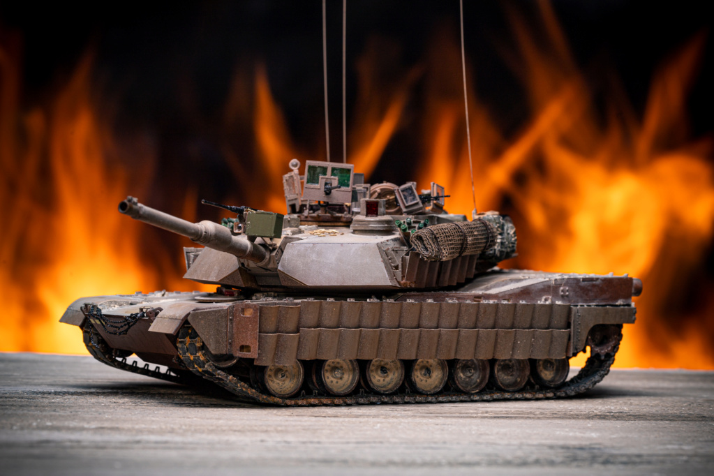 M1A2 Abrams Tusk MENG 1/35 Termine - Page 4 Img_7627