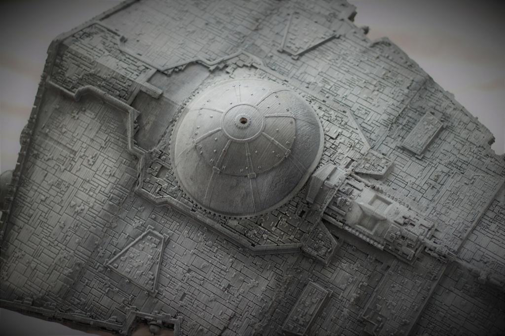 Destructeur Impérial grande taille plastique fondu Img_9051