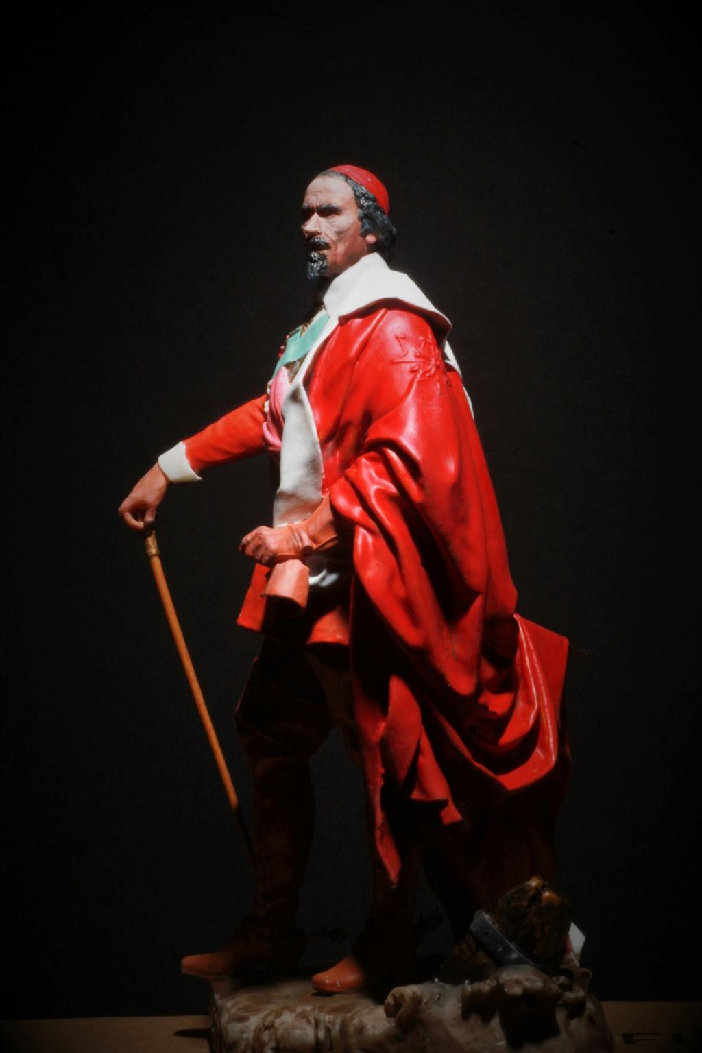 Armand Jean du Plessis Duc de Richelieu Résine 3D ( 12cm ) Terminé Img_9292