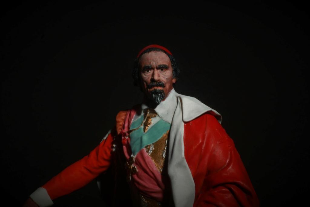 Armand Jean du Plessis Duc de Richelieu Résine 3D ( 12cm ) Terminé Img_9293