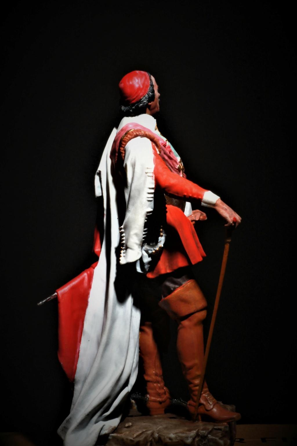 Armand Jean du Plessis Duc de Richelieu Résine 3D ( 12cm ) Terminé Img_9294