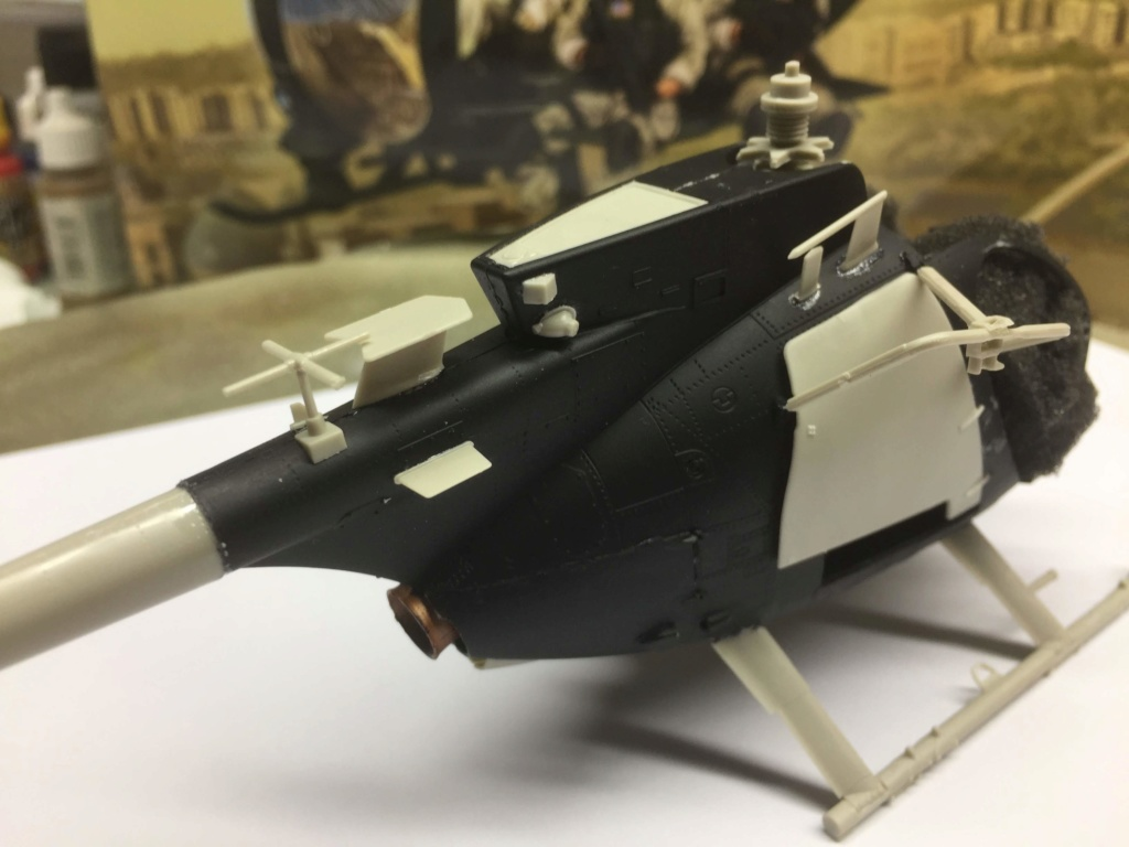 AH-6M  Little Bird Nightstalkers  KITTY HAWK  1/35 Img_9538