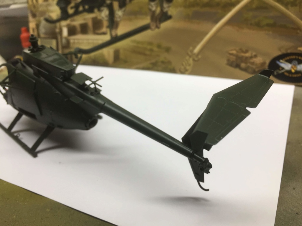 AH-6M  Little Bird Nightstalkers  KITTY HAWK  1/35 Img_9544