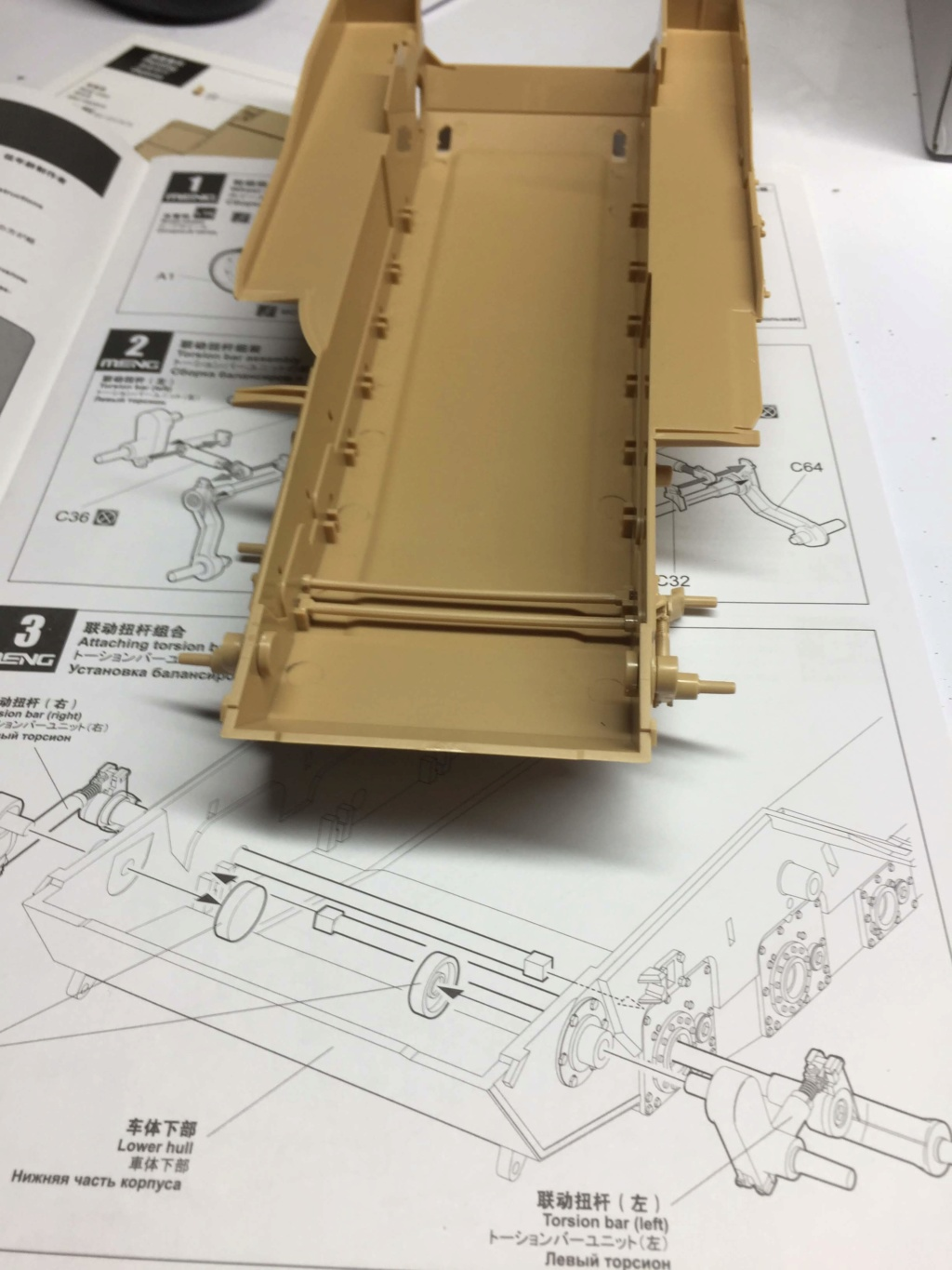 M1A2 Abrams Tusk MENG 1/35 Termine Img_9734