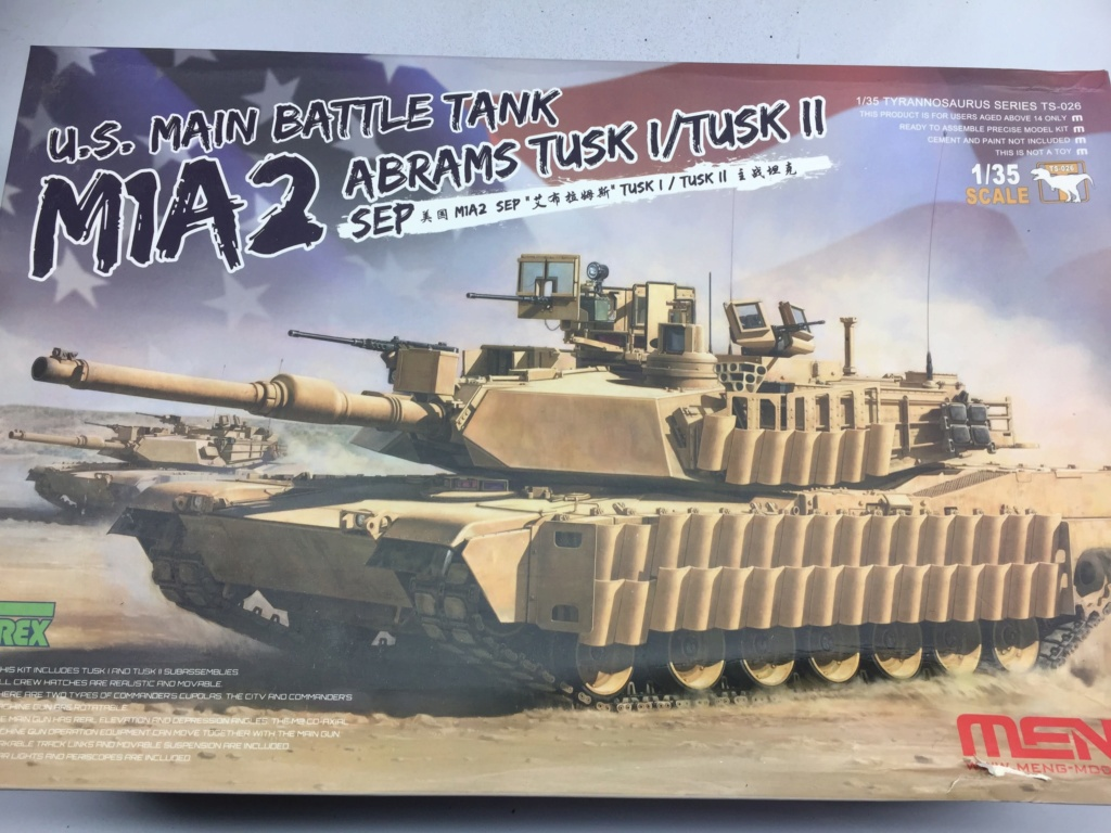 M1A2 Abrams Tusk MENG 1/35 Termine Img_9735