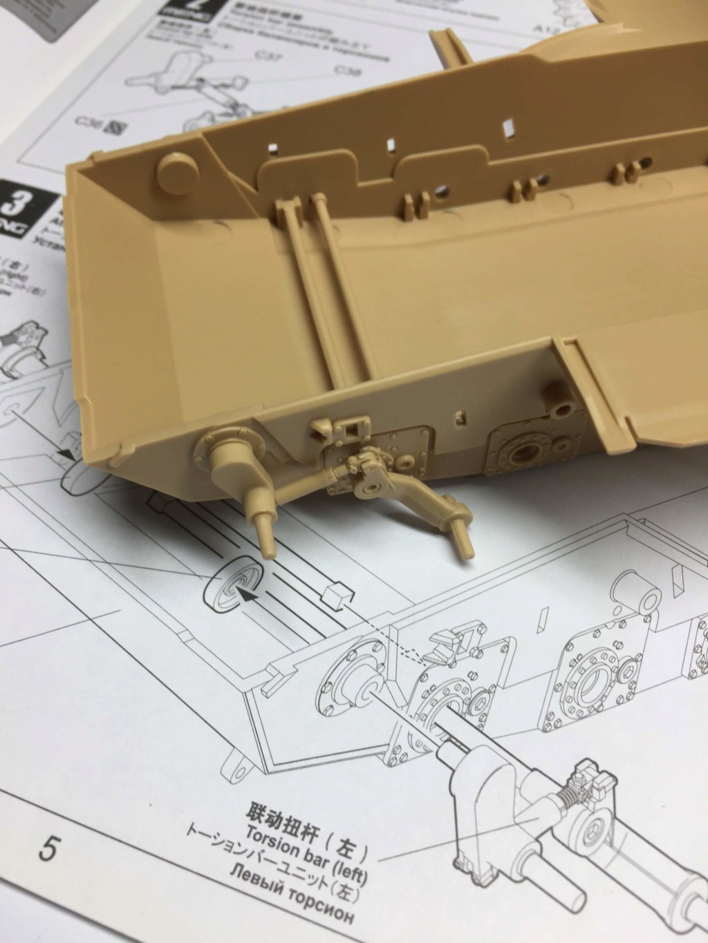 M1A2 Abrams Tusk MENG 1/35 Termine Img_9736