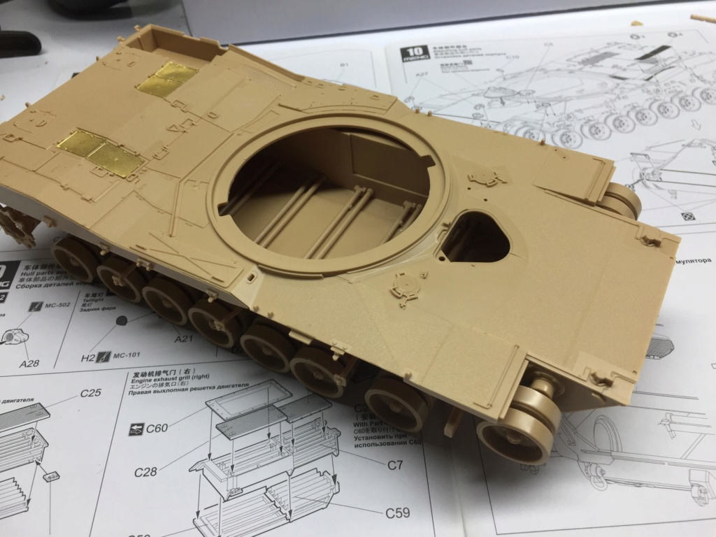 M1A2 Abrams Tusk MENG 1/35 Termine Img_9745